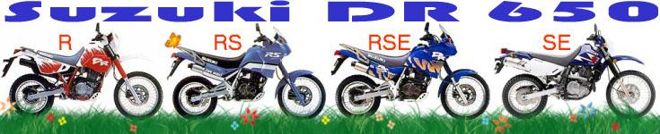 Stránky věnované motocyklu Suzuki DR 650
